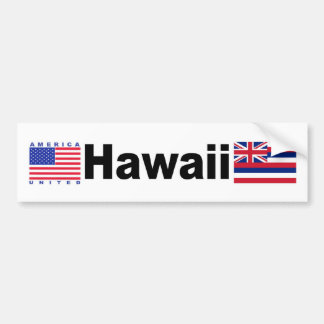 Hawaii Bumper Sticker