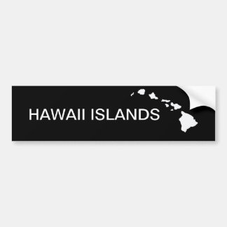 Hawaii Eight Islands Bumper Sticker