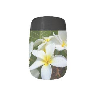 Hawaii Flower Minx Nail Art