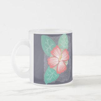 Hawaii Frosted Glass Mug