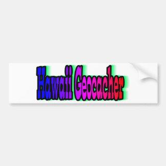 Hawaii Geocacher Bumper Sticker