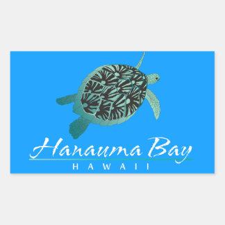 Hawaii Hanauma Bay Rectangular Sticker