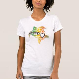 Hawaii Islands Reggae Turtle Tee Shirt