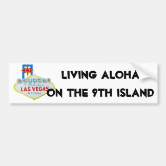Hawaii Mainland Ninth Island Bumper Sticker