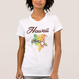 Hawaii Reggae island Turtle and Islands Tee Shirts