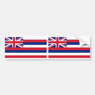 Hawaii State flag Bumper Sticker
