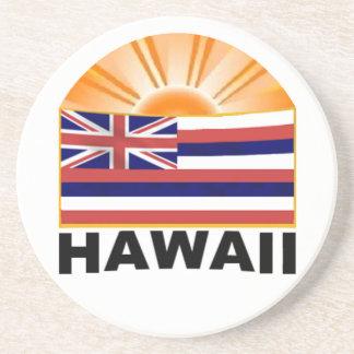 Hawaii Sunburst Coaster