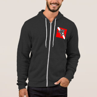 Hawaii Turtle Dive Flag Hoodie