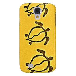 Hawaii Turtle Petroglyph Galaxy S4 Case