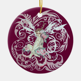 Hawaiian Faery Christmas Ornament