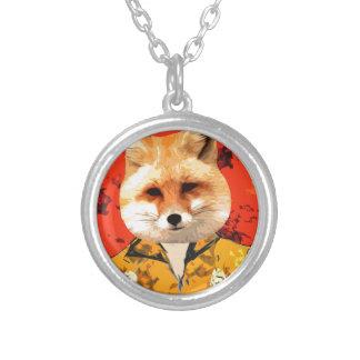 Hawaiian Fox Silver Plated Necklace