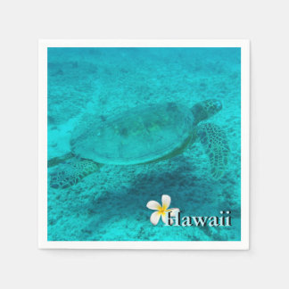 Hawaiian Green Sea Turtle Paper Napkins