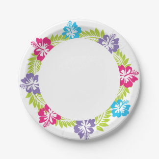Hawaiian Paper Plate