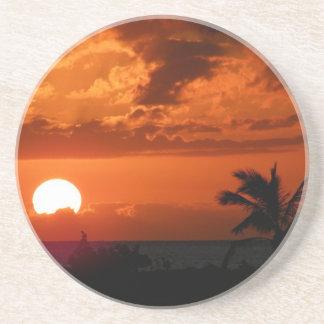 Hawaiian Sunset Coaster