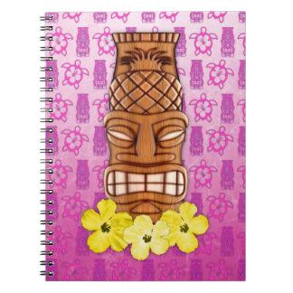 Hawaiian Tiki Mask Notebooks