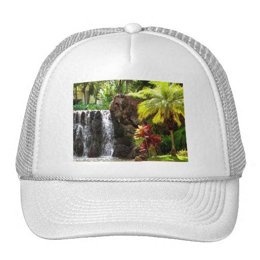 Hawaiian Waterfalls Trucker Hats