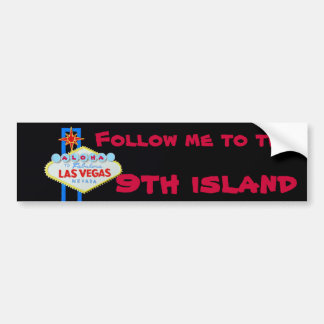 Hawaii's Ninth Island Bumper Sticker