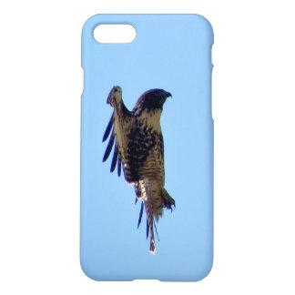 Hawk in Flight Iphone Case