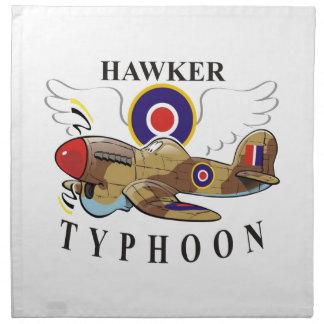 hawker typhoon napkin