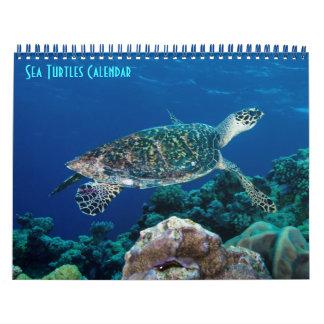 Hawksbill Sea Turtle Great Barrier Reef Coral Sea Calendar