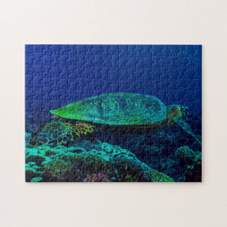 Hawksbill Sea Turtle Jigsaw Puzzle