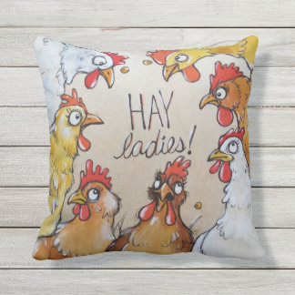 HAY Ladies - hen party here. Outdoor Cushion