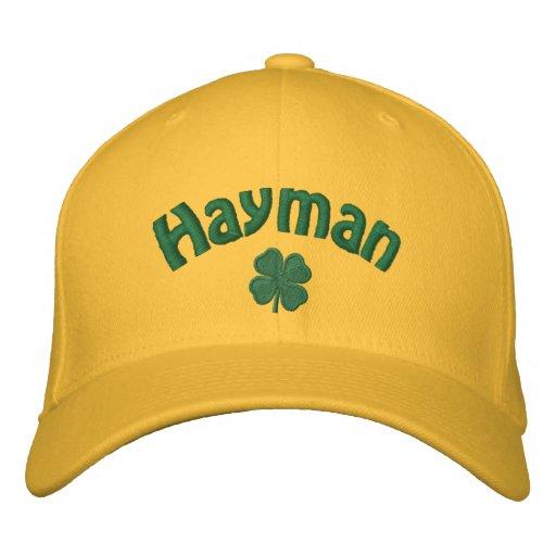 Hayman  - Four Leaf Clover Embroidered Baseball Cap