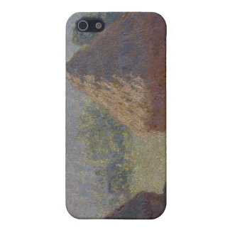 Haystacks at the End of the Summer, M E (1890) iPhone 5 Case