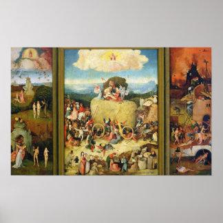 Haywain, 1515 poster