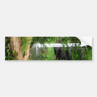 Hazardous Paradise Bumper Sticker