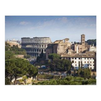 he Colosseum or Roman Coliseum, originally the Postcard