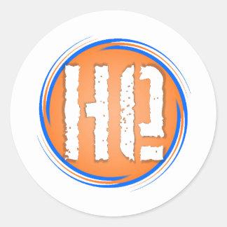 HE Logo Classic Round Sticker