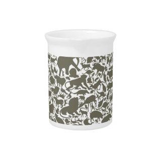 Head an animal pitcher