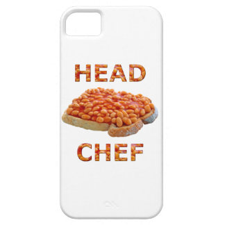 Head Chef Beans on Toast iPhone 5 Cover