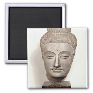 Head from a statue of the Buddha, from Square Magnet