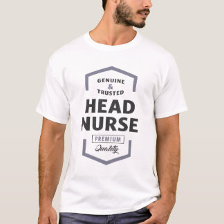 Head Nurse Logo Tees