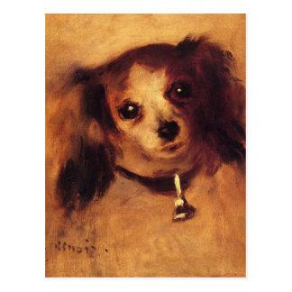 Head of a Dog by Pierre-Auguste Renoir Postcard