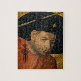 Head of a Halberdier by Hieronymus Bosch Jigsaw Puzzles