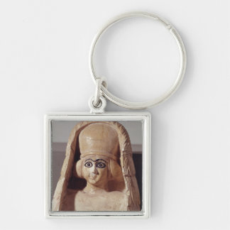 Head of a statue of Ishtar, wearing a Key Ring