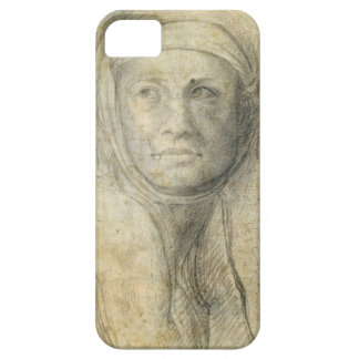 Head of a Woman (pencil on paper) Case For The iPhone 5