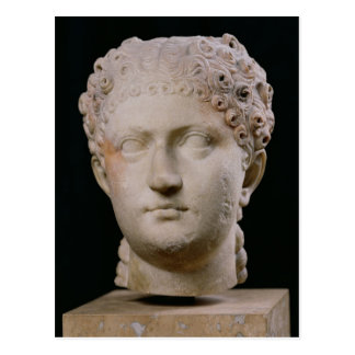 Head of Agrippina the Younger Postcard