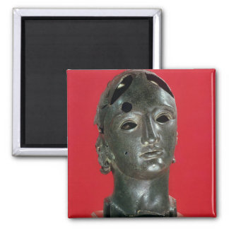 Head of Apollo, from Nimes, 1st-2nd century Fridge Magnet