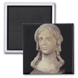 Head of Berenice I  or Cleopatra I Magnet