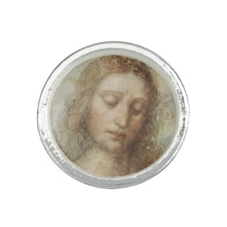 Head of Christ by Leonardo daVinci Ring