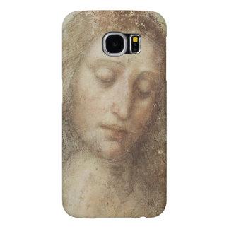 Head of Christ by Leonardo daVinci Samsung Galaxy S6 Cases