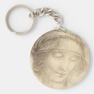 Head of Saint Anne Key Ring