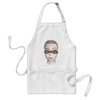 head with goggles standard apron