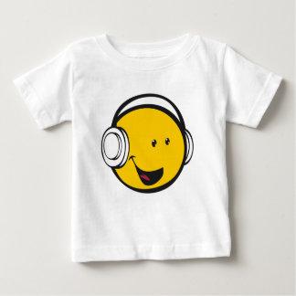 Headphones Emoji Baby T-Shirt