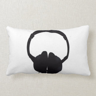 Headphones Lumbar Pillow