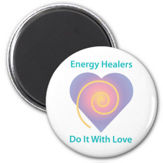 Healers Do It With Love Magnet